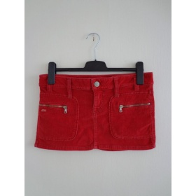 Červená sukňa Miss Sixty