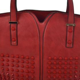Veľká dámska červená kabelka