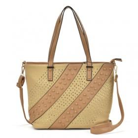 Hnedožltá kabelka -...