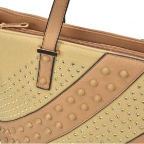dámska kabelka cez plece s veľmi pekným vzorom a zapínaním na zips.
