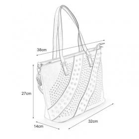 rozmermi veľmi praktická kabelka pre každú príležitosť na denné nosenie.