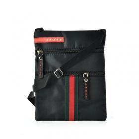 Malá čierna praktická crossbody kabelka športová.