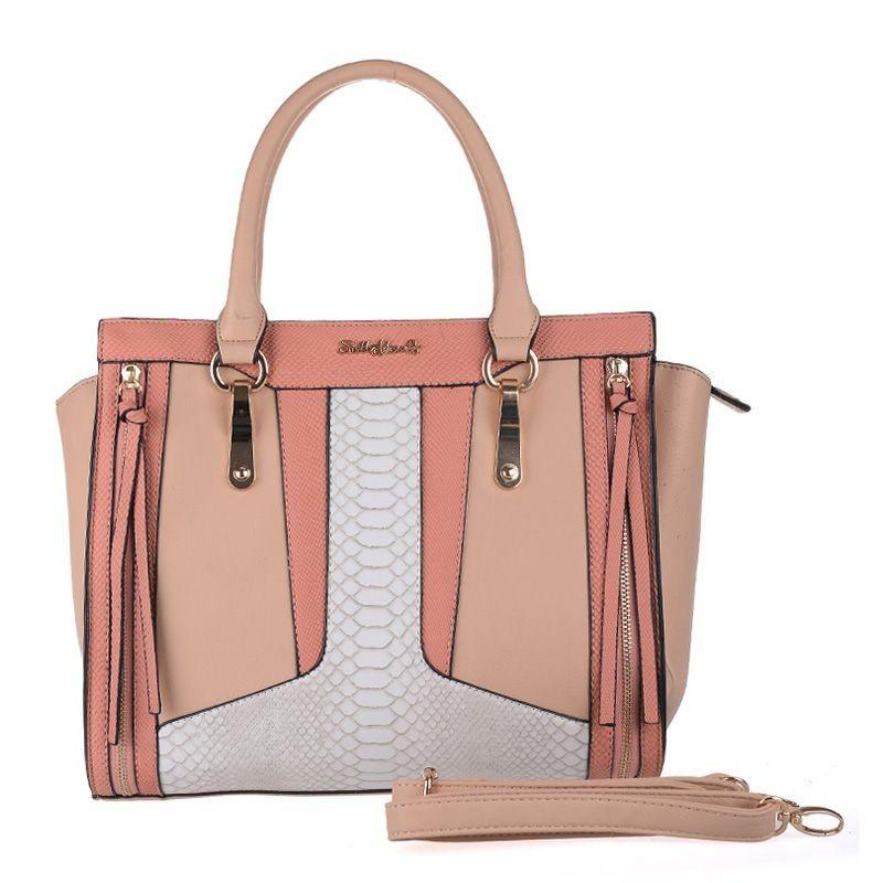 Ružová dámska kabelka do ruky Sally Young.