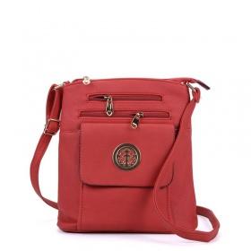 Červená kabelka Crossbody s...