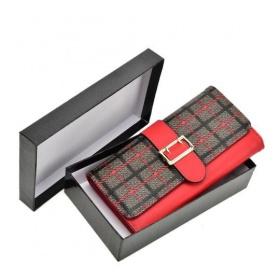 Červená dámska peňaženka R296