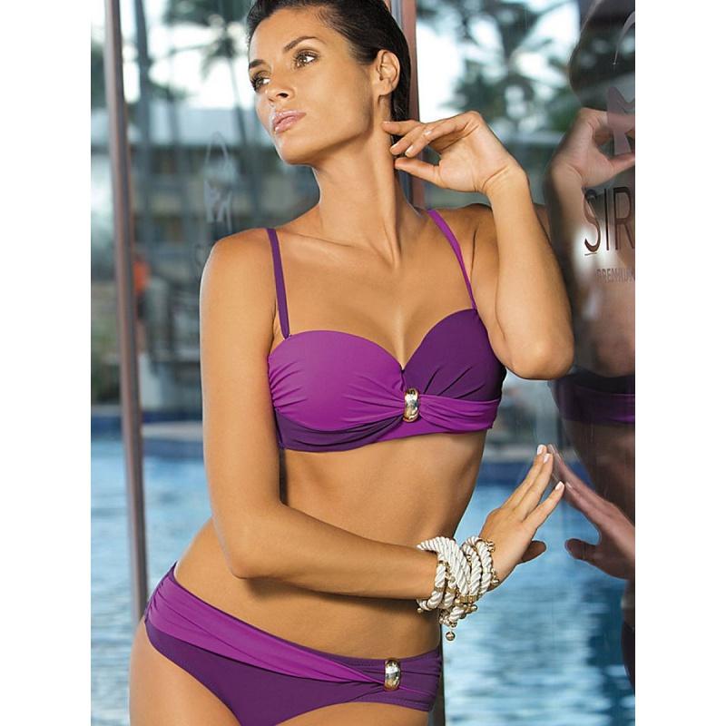 Dvojdielne dámske fialové plavky Marko