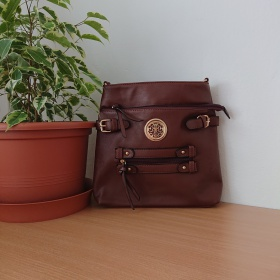 Hnedá kabelka Crossbody