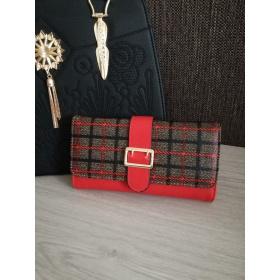 Červená dámska peňaženka KARO