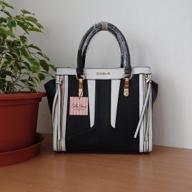 Čierna kabelka - Patchwork...