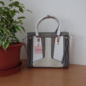 Šedá kabelka - Patchwork Grey