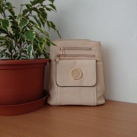 Béžová kabelka Amulet