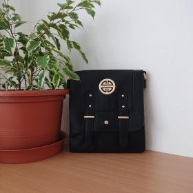 Čierna kabelka Crossbody