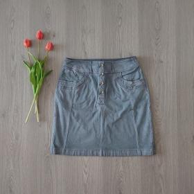 Šedá sukňa Tom Tailor
