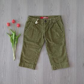 Krátke zelené dámske nohavice MISS SIXTY