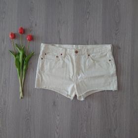 Biele dámske krátke...
