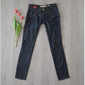 Čierne dámske džínsy Miss...