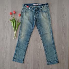 Modré dámske džínsy Miss Sixty