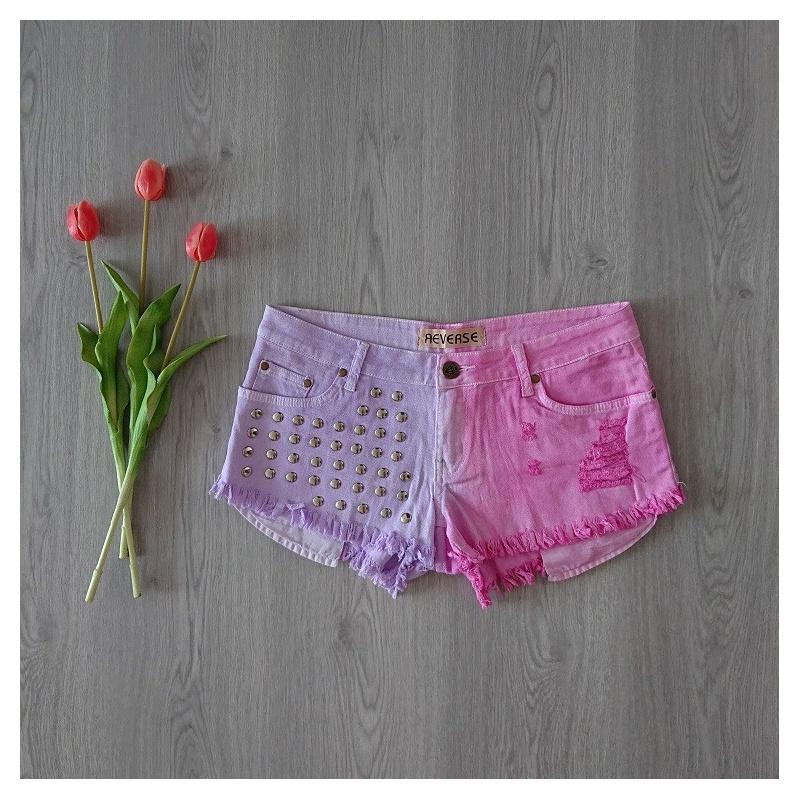 Krátke dámske nohavice Reverse