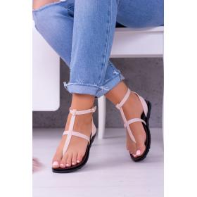 Béžové Dámske sandále LU...