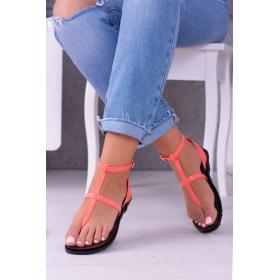 Ružové Dámske sandále LU...