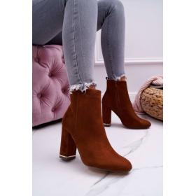 Hnedé Dámske topánky  -...
