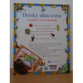 Kniha Detský atlas sveta