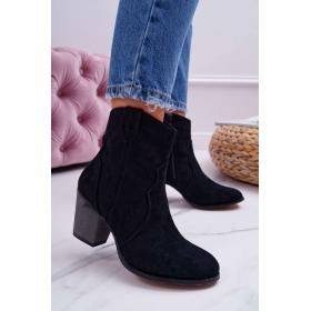 Čierne Dámske topánky BUGO...