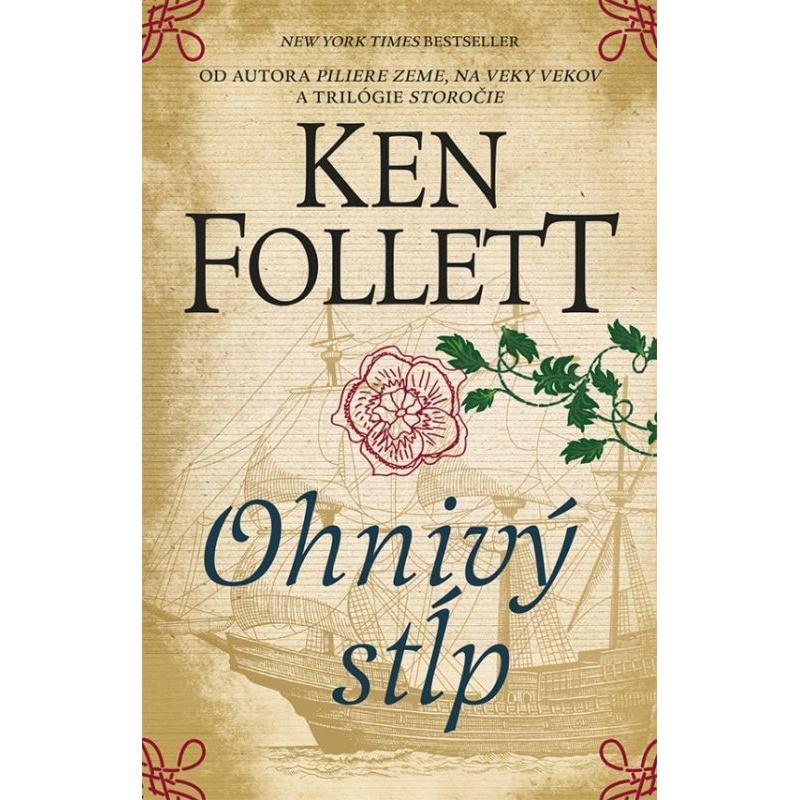 Kniha:  Ohnivý stĺp - Ken Follett