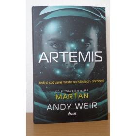 Kniha:  Artemis - Andy Weir