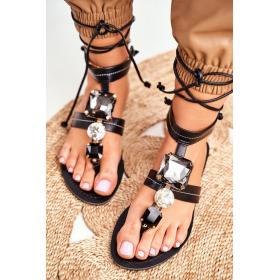 Čierne Dámske sandále SEA -...