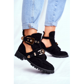 Čierne Dámske topánky LU...