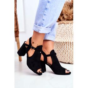 Čierne Dámske sandále BUGO...