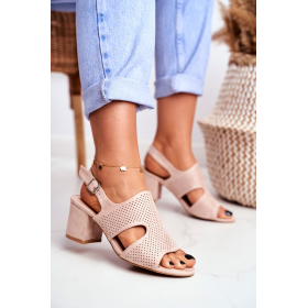Béžové Dámske sandále BUGO...