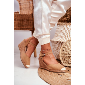Hnedé Dámske sandále Big...