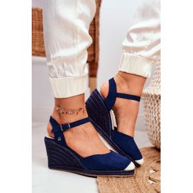 Modré Dámske sandále Big...