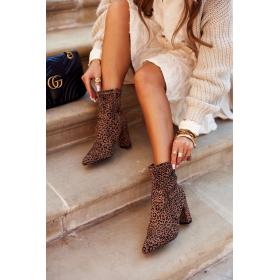 Hnedé Dámske topánky...