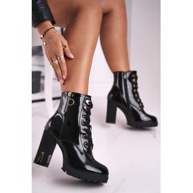 Čierne Dámske topánky FRERY...