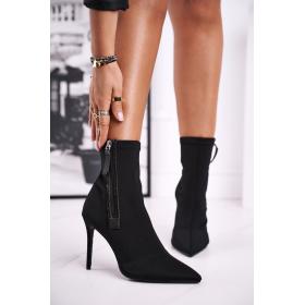 Čierne Dámske topánky FRGIV...