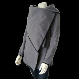 Šedý dámsky kabát Lesara