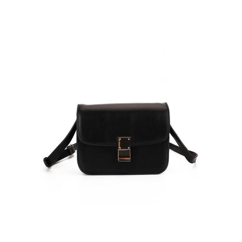 Čierna csrossbody kabelka malá