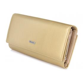 Zlatá peňaženka dámska