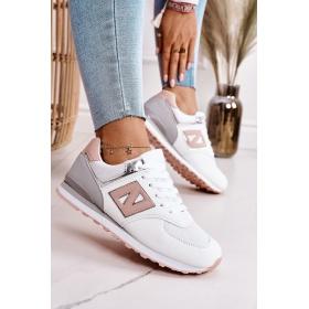 Športové topánky biele dámske F4U13823