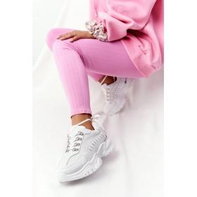 Biele dámske športové topánky Good Mood F4U14071