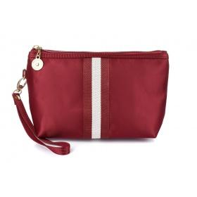 Dámska kozmetická taška - bordová