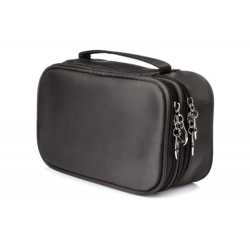 Kozmetická taška dámska - šedá