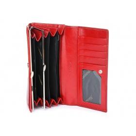 Červená peňaženka klasik Alessandro