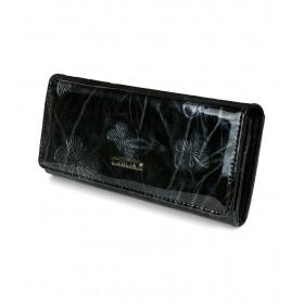 Kožená peňaženka čierna JULIA ROSSO
