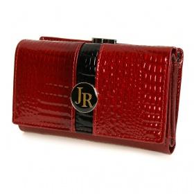 Stredne veľká kožená peňaženka HANDY