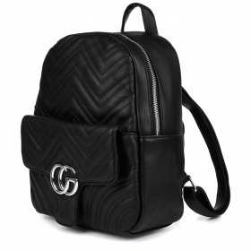 Čierny dámsky ruksak CG