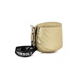 Zlatá crossbody kabelka VERSOLI  V4